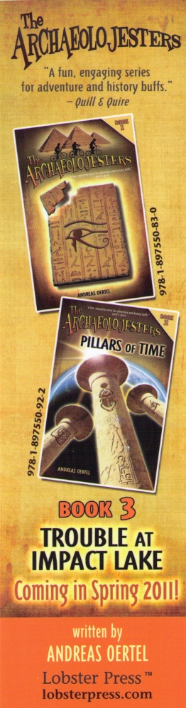 Archeolojesters bookmark