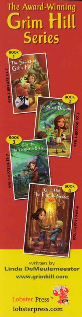 Grim Hill bookmark