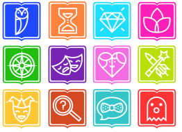 """Eriginal Books commissioned these """"Reader Icons"""" to represent the different types of target audiences available to market books in any genre"""