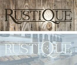 Rustique Logo Drafts