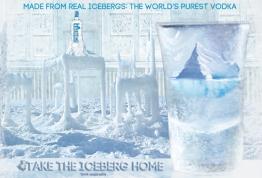 Iceberg Vodka Poster Ad